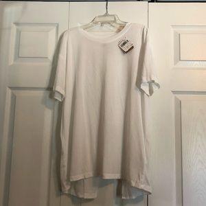 Reebok: Supremium White Workout T-shirt (CrossFit)
